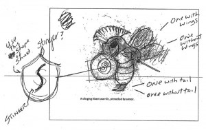 student-mascot-idea-drawing