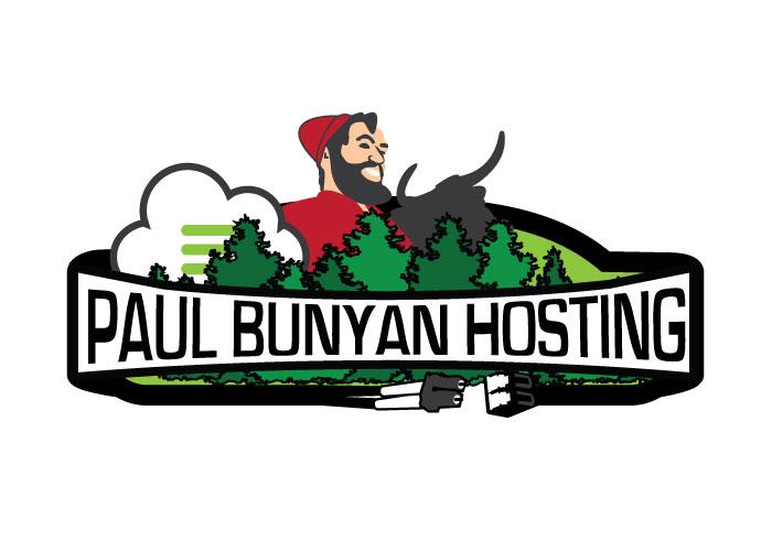 Paul Bunyan Hosting – Logo Design