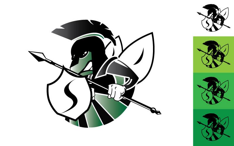 Mascot Logo Design – Spectrum High School