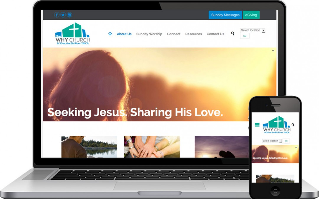 why church responsive website design