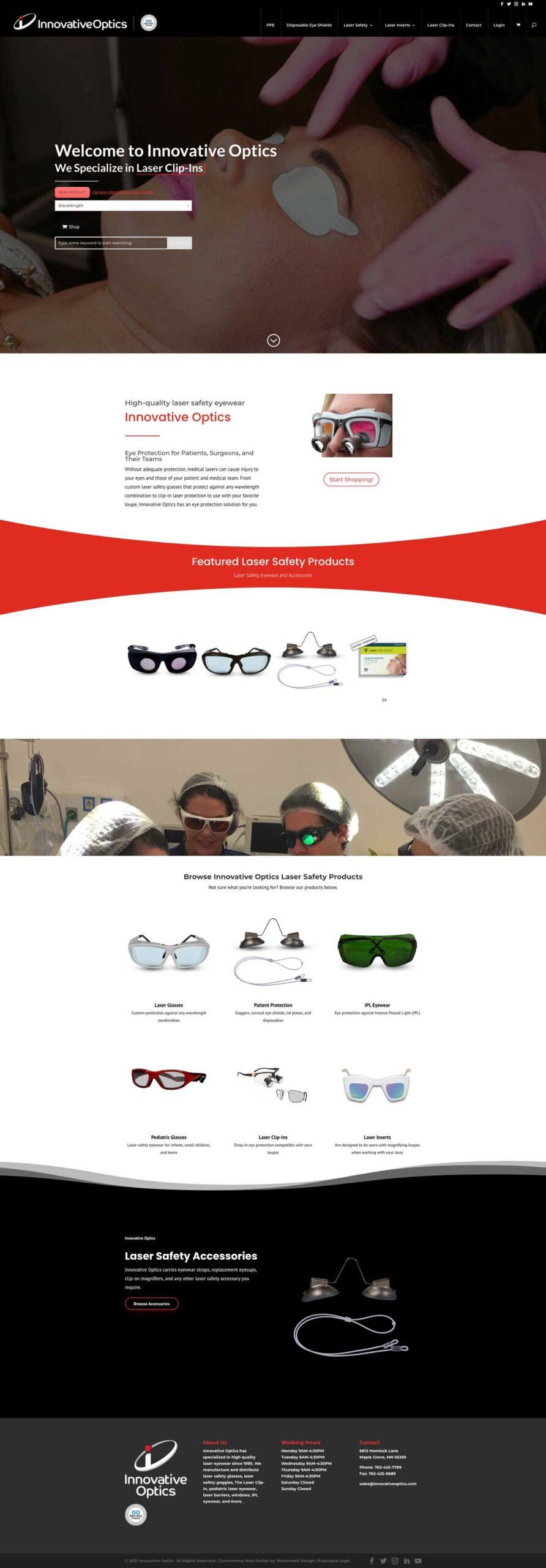 ecommerce website design io