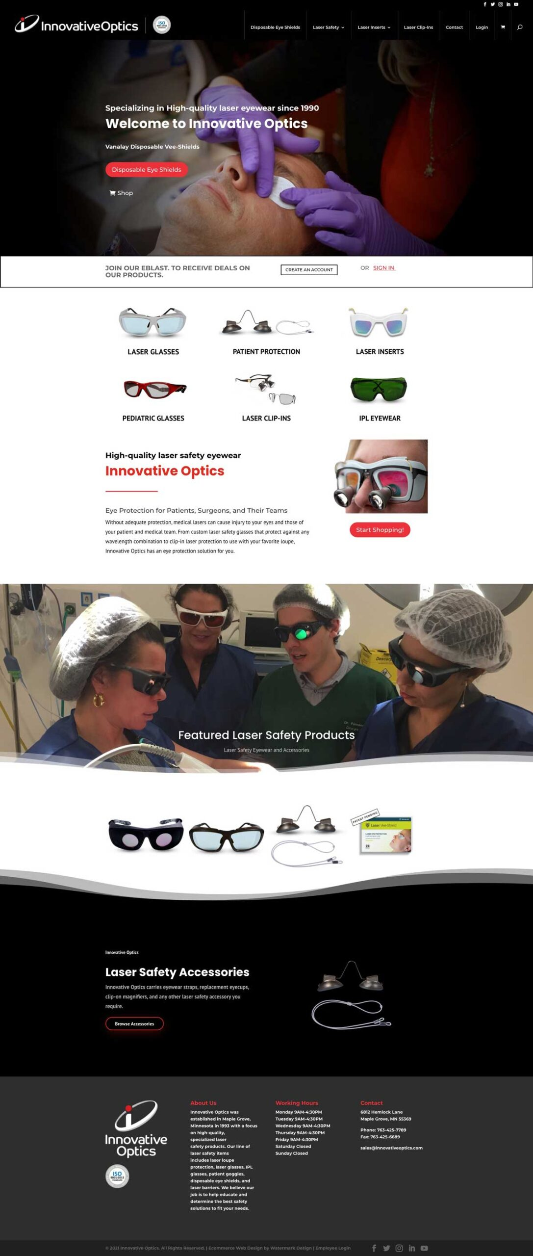 ecommerce website design packages io